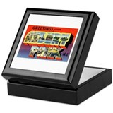 Asbury Park New Jersey Keepsake Box