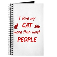 I Love My Cat Journal