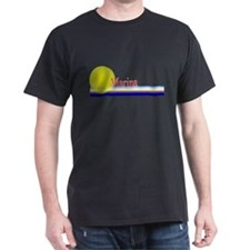 Marina Black T-Shirt