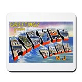 Asbury Park Greetings Mousepad