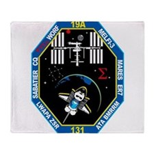 STS-131 Payload Team Throw Blanket