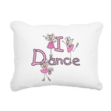 IDANCEGIRLBALLERINA.png Rectangular Canvas Pillow