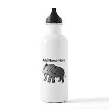 Personalized Elephant Water Bottle