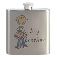 Big Brother With Little Sister Flask