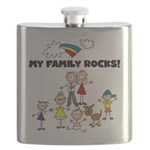 FAMILY STICK FIGURES Flask