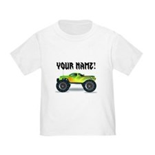 Personalized Monster Truck T