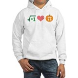 i Love Pumpkin Pi Jumper Hoody