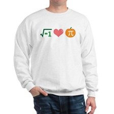 i Love Pumpkin Pi -- Sweatshirt