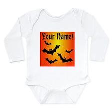 Personalized Halloween Bats Onesie Romper Suit