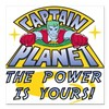 "CAPTAINPLANETPOWER.png Square Car Magnet 3"" x 3"""