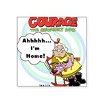 courageathome.png Square Sticker 3