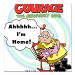 courageathome.png Square Car Magnet 3