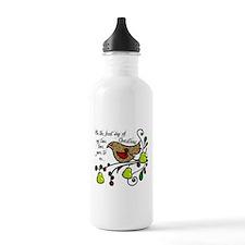 Partridge in a pear tree Water Bottle
