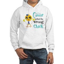 Thyroid Cancer Picked The Wrong Chick Hoodie