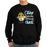 Thyroid Cancer Picked The Wrong Chick Sweatshirt