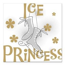 "ICEPRINCESSTEE.png Square Car Magnet 3"" x 3"""