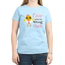Breast Cancer Picked The Wrong Chick T-Shirt