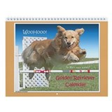 Golden Retriever WooHooo Wall Calendar