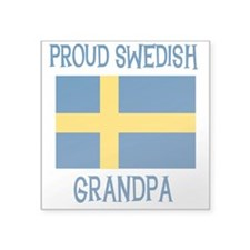 "SWEDISHGPA.png Square Sticker 3"" x 3"""
