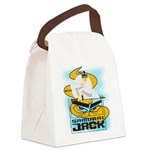 SAMURAIJACKONE.png Canvas Lunch Bag