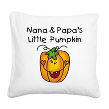nanapapapumpkin.png Square Canvas Pillow