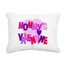 mommysvalentine.png Rectangular Canvas Pillow