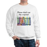 Please don't eat the crayons Jumper