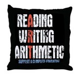 A Complete Education Throw Pillow