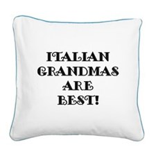 ITALIANGMASBEST.png Square Canvas Pillow
