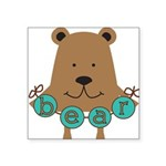 GOODNESSFUNBEAR.png Square Sticker 3