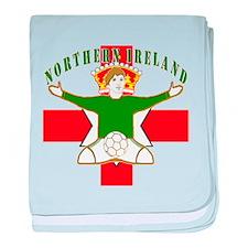 Northern Ireland Football Celebration baby blanket