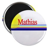 "Mathias 2.25"" Magnet (100 pack)"