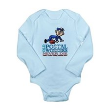 Postal Long Sleeve Infant Bodysuit