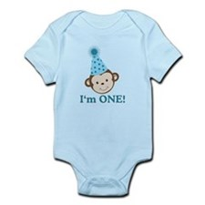 Im ONE Boy Monkey Infant Bodysuit