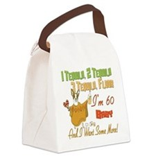 Tequila Birthday 60.png Canvas Lunch Bag