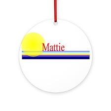 Mattie Ornament (Round)