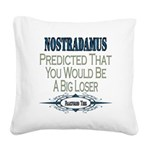 Nostradamus copy.png Square Canvas Pillow