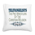 televangelists copy.png Square Canvas Pillow