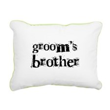 CRAZYGROOMBROTHER.png Rectangular Canvas Pillow