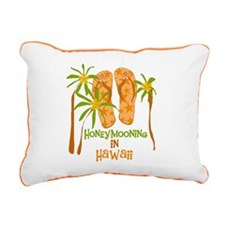 fliphmooonhawaii.png Rectangular Canvas Pillow