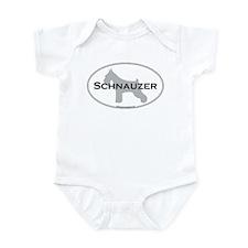 Schnauzer Infant Creeper