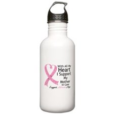 Mother-in-Law Breast Cancer Water Bottle