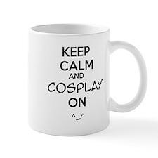 keep calm and cosplay on Mug