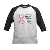 Heart Mom Breast Cancer Tee