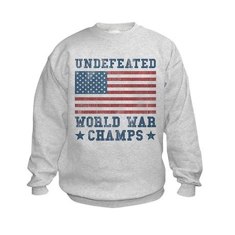 Undefeated World War Champs Kids Sweatshirt
