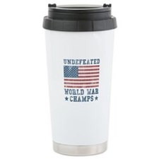 Back To Back World War Champs Ceramic Travel Mug