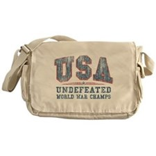 V. USA World War Champs Messenger Bag