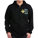 Ovarian Cancer Picked The Wrong Chick Zip Hoody