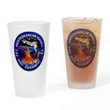 Columbia STS-107 Drinking Glass