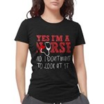 Scottish Women's Plus Size Scoop Neck Dark T-Shirt